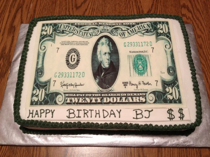 Money cake cake ideas pinterest