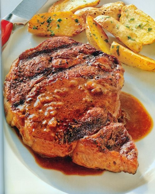 Coffee-rubbed rib-eye steaks with stout glaze | canada.com