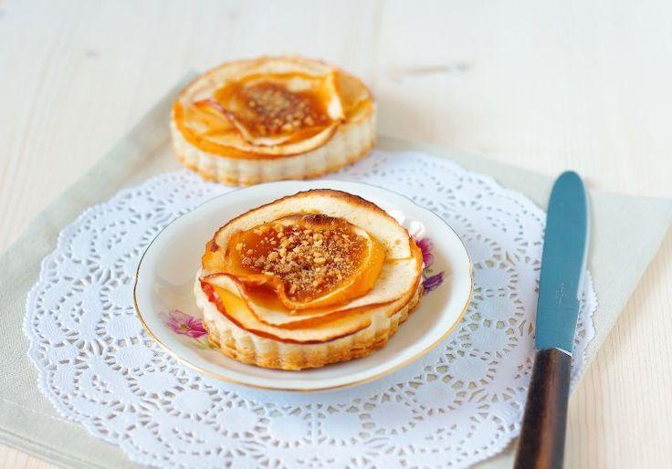 Apple-Praline Tart Cinnamon & Milk Jam} | Tarts and Pies | Pinterest