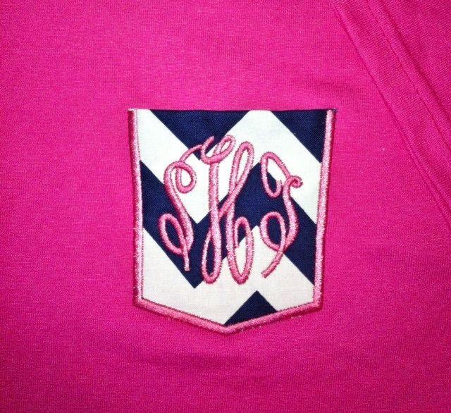 T Shirt Pocket Applique Machine Embroidery Design 10