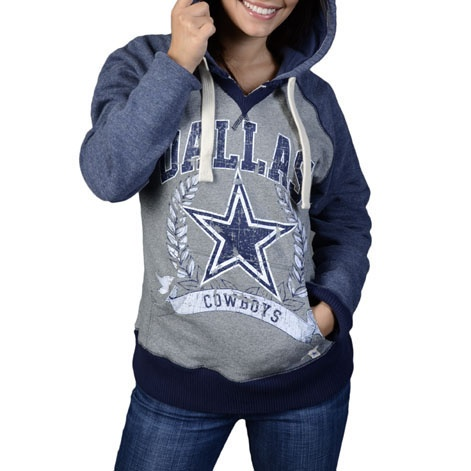 Dallas Cowboys Womens Chrysanthemum T-Shirt - Navy Blue