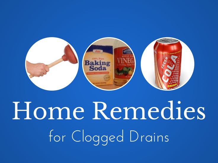 home remedies for clogged drains diy clog removal. Black Bedroom Furniture Sets. Home Design Ideas