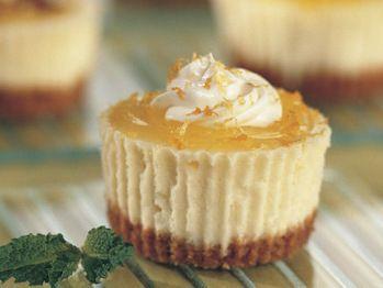 Lemon Cheesecake Cupcakes | Desserts | Pinterest