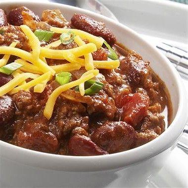 BOILERMAKER TAILGATE CHILI... Here's the blue ribbon chili recipe ...