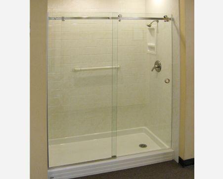 pin by frameless glass shower doors budget glass dmv on custom fram