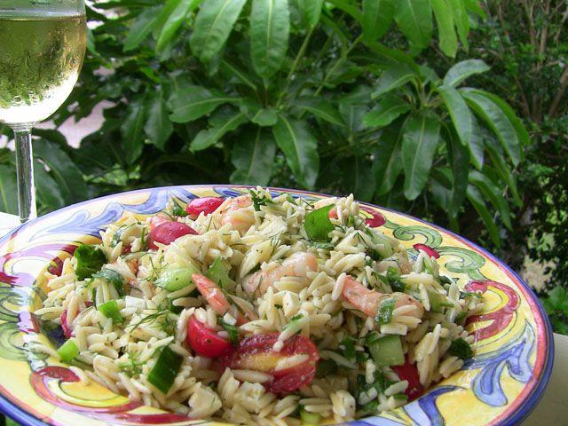 Gulf FLA Shrimp Orzo Salad | Super Salads | Pinterest