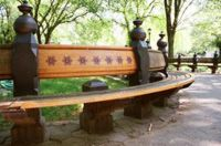 Adopt a bench in Central Park. At $7500 it prices the common people out of doing so, but it'd be a great thing to do *one day*.