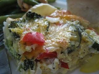 Veggie Quiche with Potato Crust | Yummy Forbidden Food | Pinterest