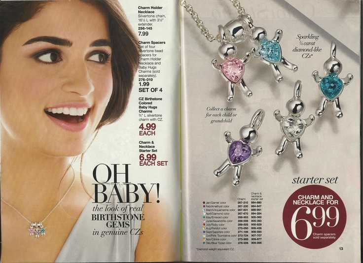 Oh Baby! birthstone baby hugs charms..by Avon