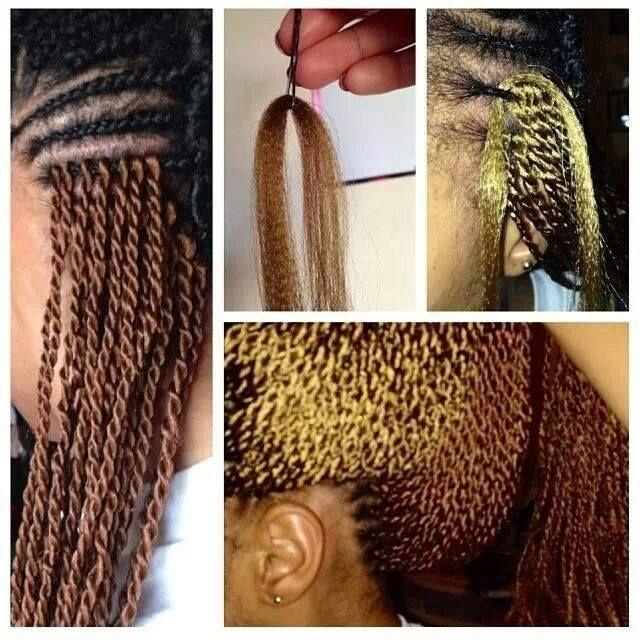Crochet Braids Install : AMAZING crochet braid install, click image to view tutorial