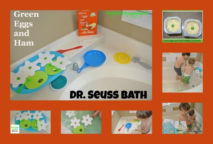 Dr. Seuss Bath- Green Eggs and Ham
