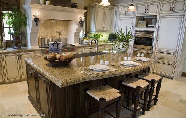 Remodeling gourmet kitchen design ideas mouthwatering for Gourmet kitchen designs