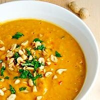 African Sweet Potato and Peanut Soup | Yummies | Pinterest