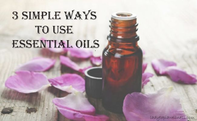 Simple ways to use essential oils essential oils pinterest