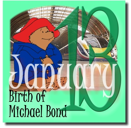 Michael Bond, 13 January | LibraryThing rebuses | Pinterest
