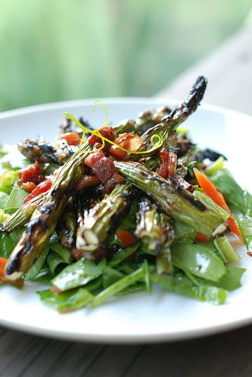 asparagus salad with bacon vinaigrette from Fresh Tart | on the side ...