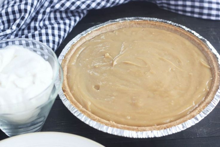 Butterscotch Pie - The classic smooth, creamy filling for this pie ...