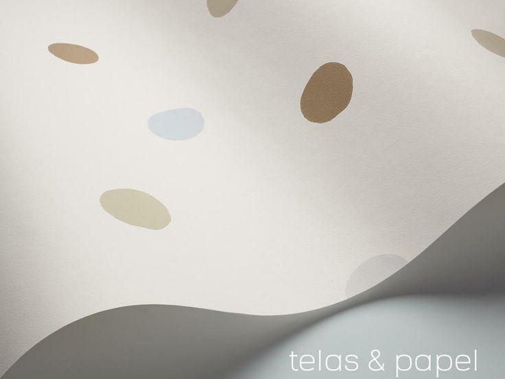 Pin by telas papel on estrellas y lunares en el papel - Papel y telas ...