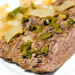 Crock Pot or Slow Cooked Flank Steak — Punchfork
