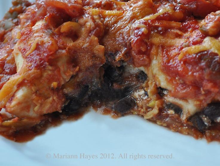 Vegetarian Enchilada Casserole | Recipes - Mexican | Pinterest