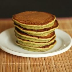 green tea pancakes | mmmmm | Pinterest