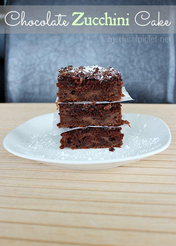 Chocolate Zucchini Cake | Recipe