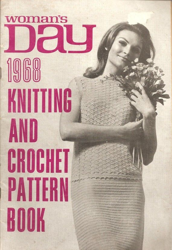 Knitting And Crochet Books : ... Retro - 1968 Womans Day Knitting and Crochet Book. $8.00, via Etsy
