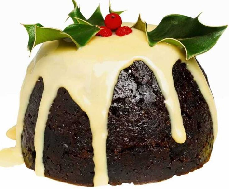 Christmas Pudding or also known as Plum pudding.