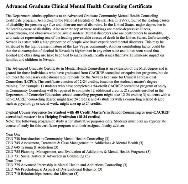 Guidance Counselor bachelor degree examples