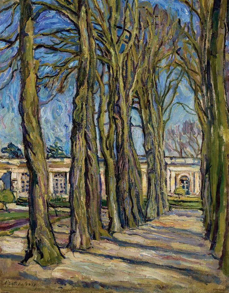 Versailles. LAllée,  Petr Konchalovsky. Russian (1876 - 1956)