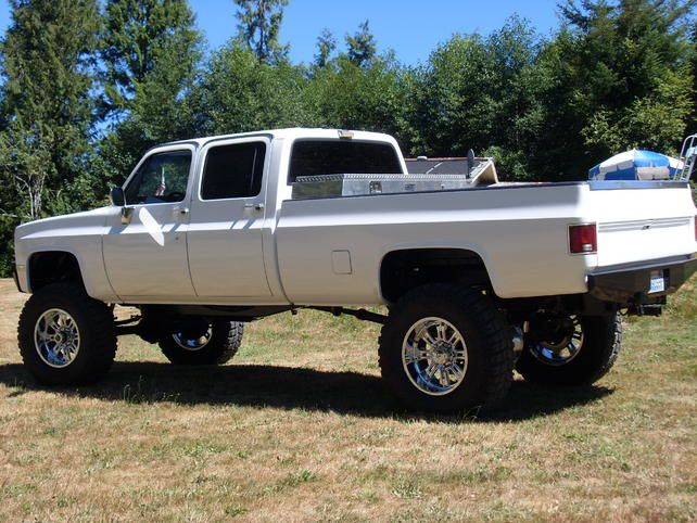 1980s Chevy 4x4 Trucks For Sale >> Chevy Crew Cab 4x4   Rides   Pinterest