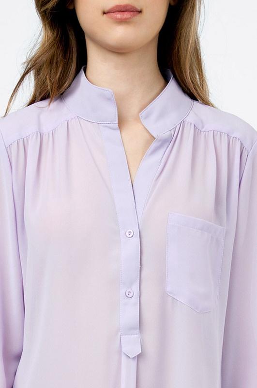 Скачать Сиреневая Блузка