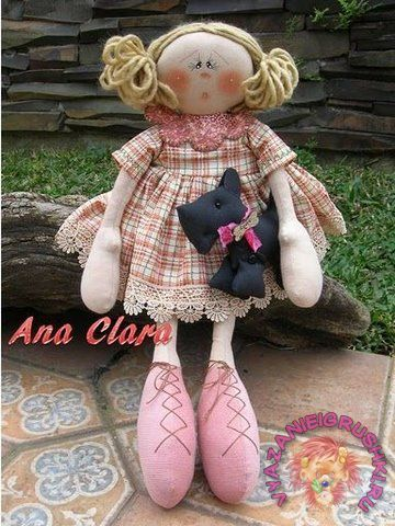 Шьем своими руками куклу