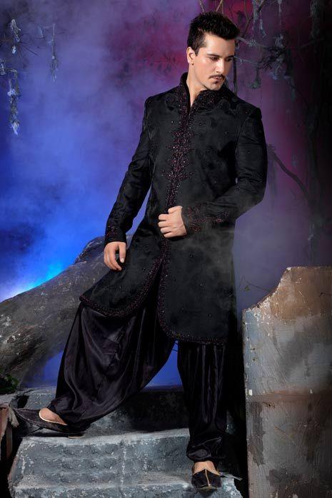 Mens Patiala Sherwani Sherwani For Men Kurta Pajama