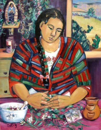 la curandera La curandera's cura provides education for a healthy community through mexican folk healing.