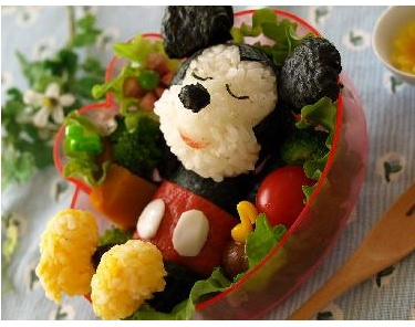 Mickey Mouse Bento | sister | Pinterest
