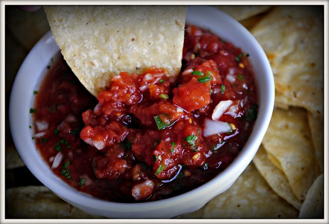 Best homemade salsa from simplyscratch com i found this recipe by