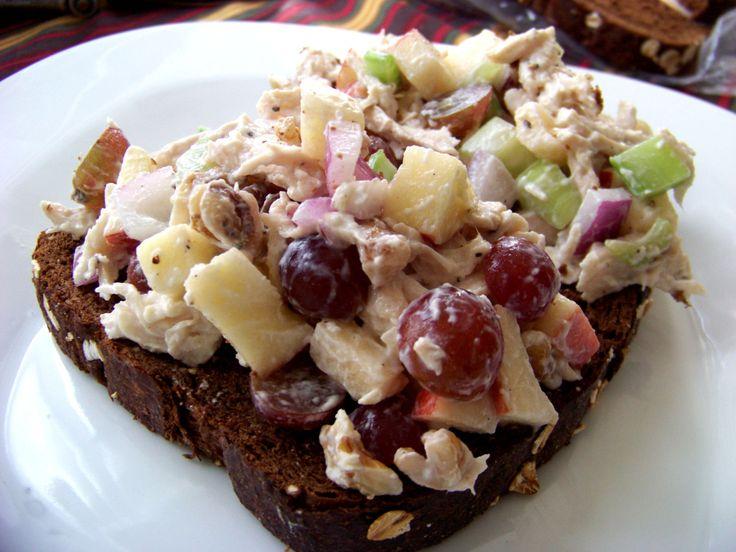 Chicken Waldorf Salad. | Delicious Dishes ... | Pinterest