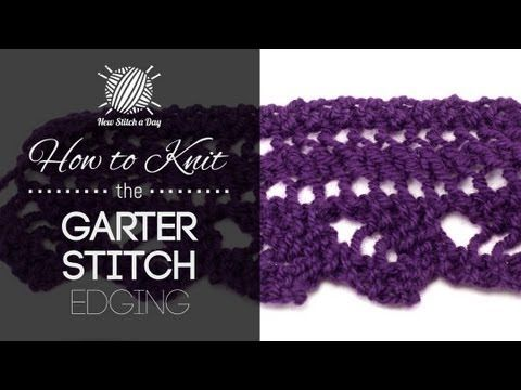 How to Knit the Garter Stitch: 12 Steps (with Pictures