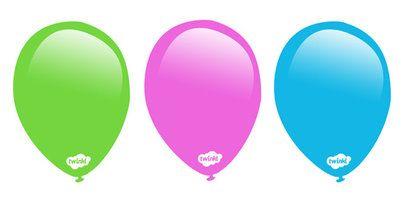 Preview editable balloon posters birthday pinterest
