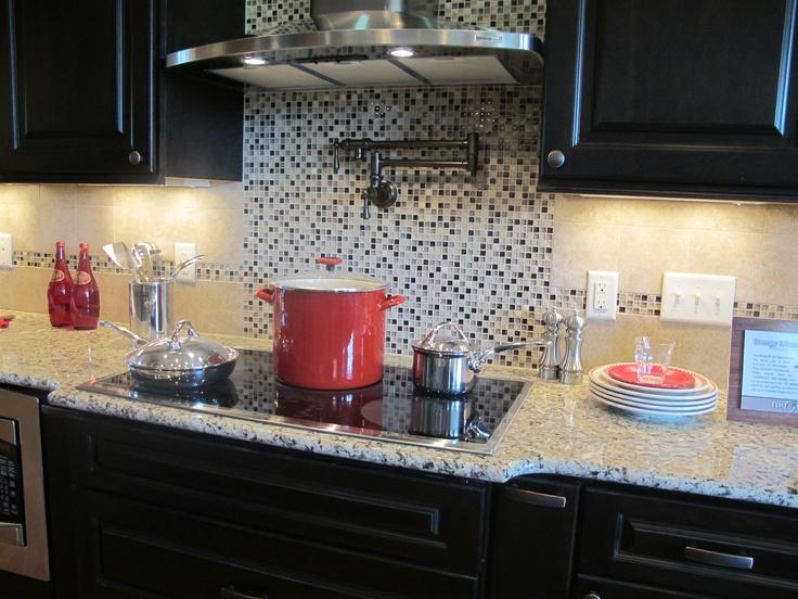 backsplash faucet a kitchen pinterest