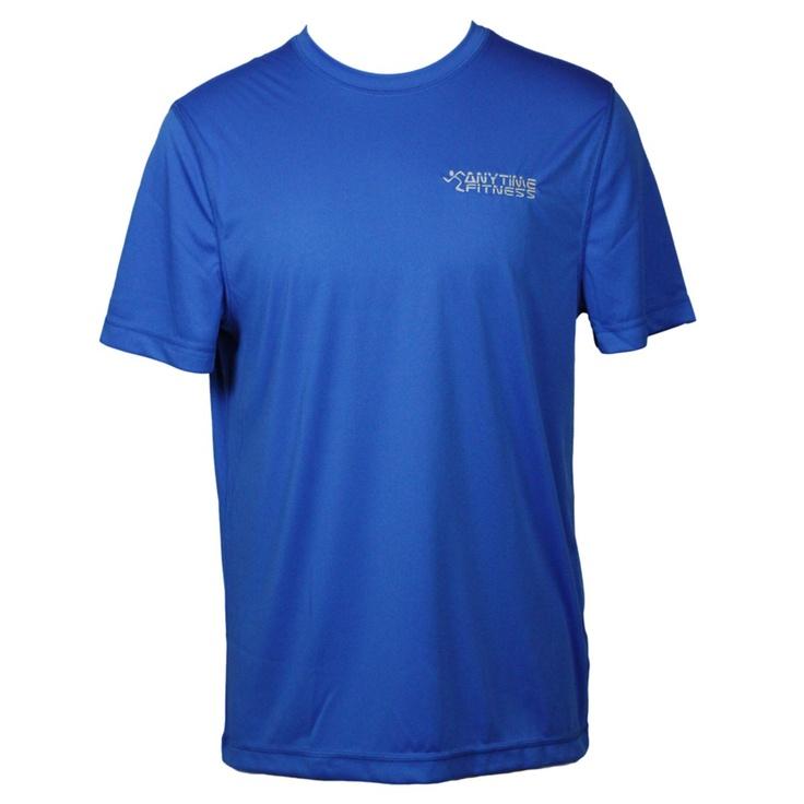 alo Men's Royal Short Sleeve Performance T-Shirt