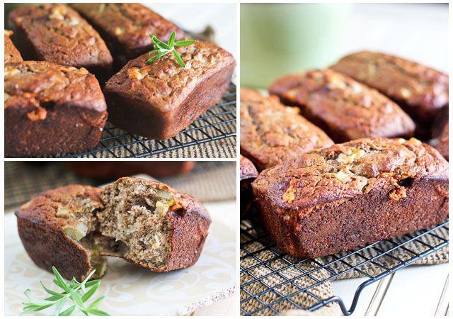 Apple and Sharp Cheddar Buckwheat Mini Breads   Recipe