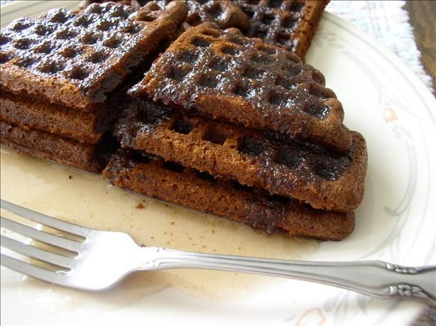 Gingerbread Waffles | Food and Drink | Pinterest
