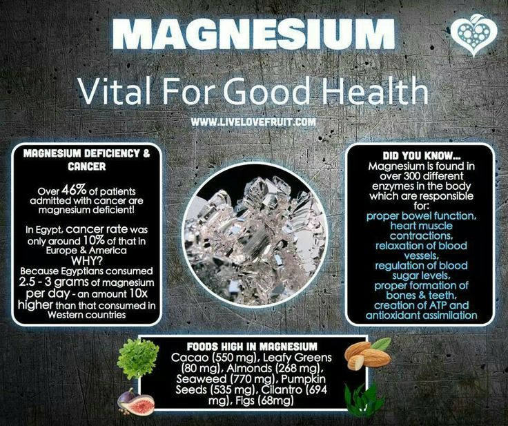 Magnesium Benefits | information for my health | Pinterest