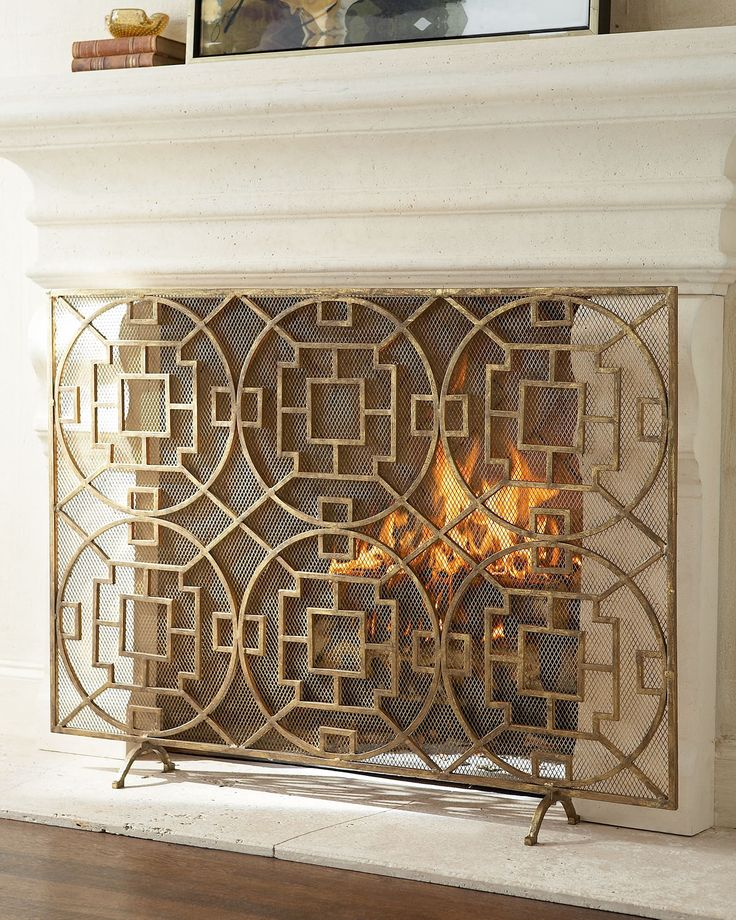 Interlude Pyra Fireplace Screen