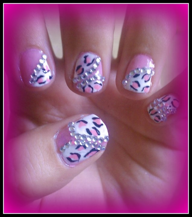 My nail design I did last summer :) | makeup/nails | Pinterest