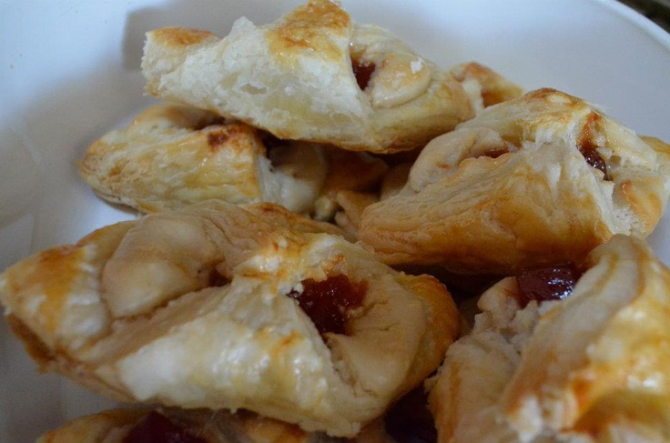 Cheese and guava pastry | Sweet Cravings | Pinterest