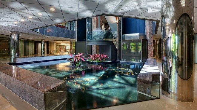 Indoor Koi Pond Awesome Future Home Pinterest