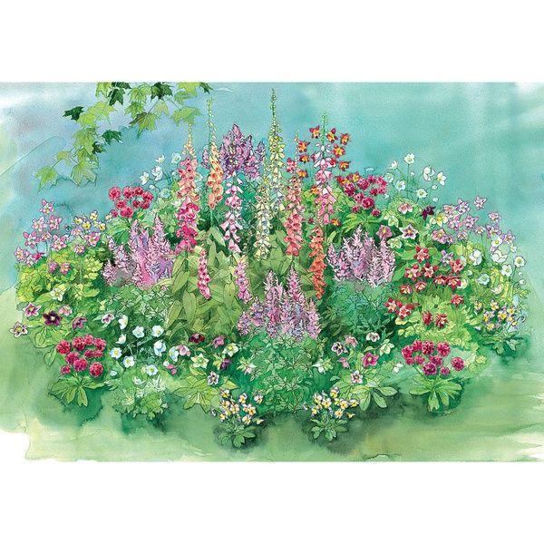 Shade Perennial Garden Glorious Gardens Pinterest